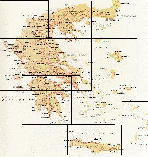 photo about Printable Map of Greece titled The Ellada Web site - Printable Map of Greece